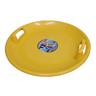 Sledging plate Acra Superstar 60 CM yellow, Acra