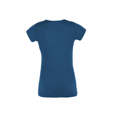 T-Shirt Functional Furry lady petrol (canoe), Direct Alpine