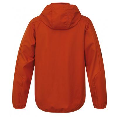 Men softshell jacket Sonny M brick, Husky