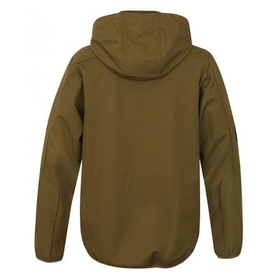 Men softshell jacket Sonny M dark khaki, Husky