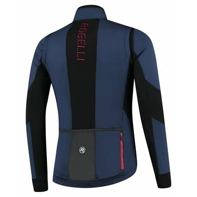 Men's softshell cycling jacket Rogelli Brave blue-black-red ROG351025, Rogelli