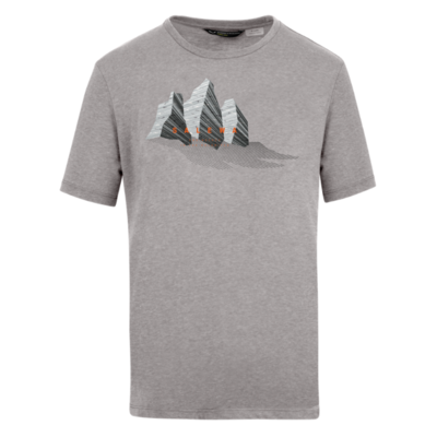 T-Shirt Salewa Lines Graphic Dry M 28065-0625