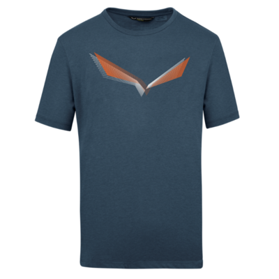 T-Shirt Salewa Lines Graphic Dry M 28065-3986