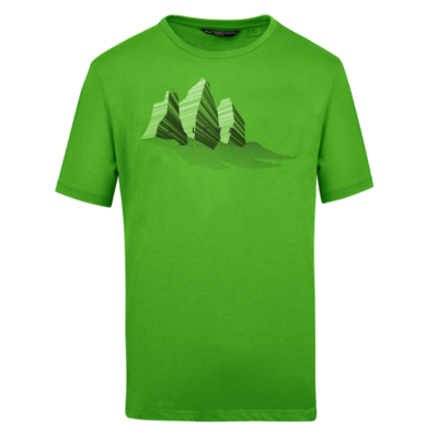 T-Shirt Salewa Lines Graphic Dry M 28065-5649