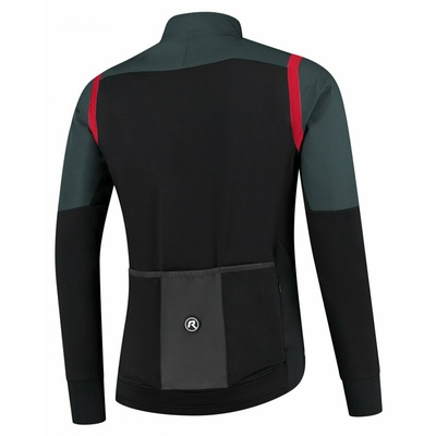 Men ultralight cycling jacket Rogelli Infinite without insulation gray-black-red ROG351050, Rogelli