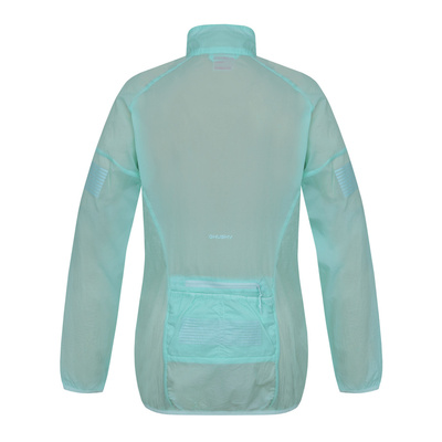 Women ultralight jacket Loco L light. turquoise, Husky