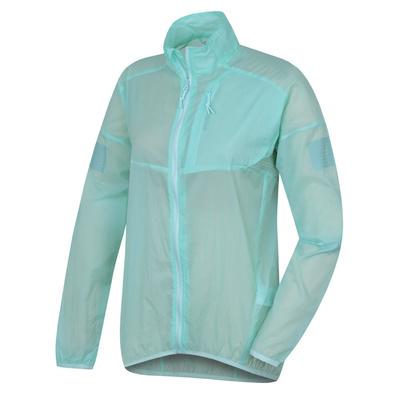 Women ultralight jacket Loco L light. turquoise