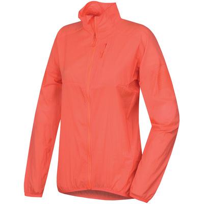 Women ultralight jacket Husky Loco L neon pink