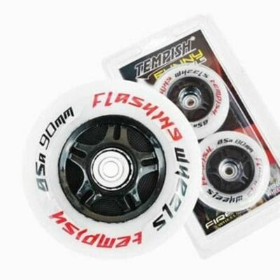 Set of Wheels Tempish FLASHING 84x24 85A white, Tempish