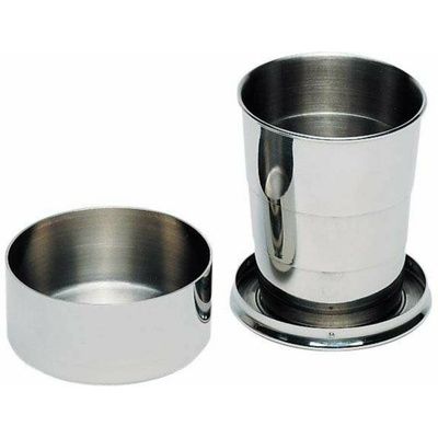 Stainless steel folding cup Ferrino BICCHIERE PIEGHEVOLE INOX, Ferrino