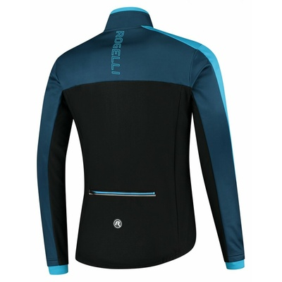 Men winter jacket Rogelli Freeze black and blue ROG351021, Rogelli