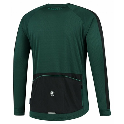 Men cycling jersey without insulation Rogelli Explore green-black ROG351003, Rogelli