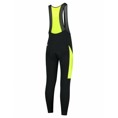 Men's warm cycling pants Rogelli Tyro black-reflective Yellow ROG351017, Rogelli