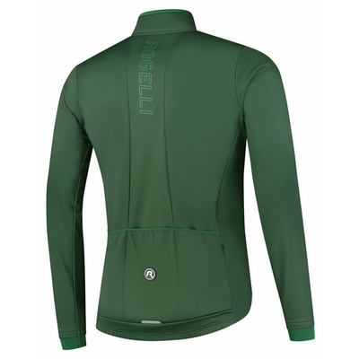 Men softshell light jacket Essential green ROG351028, Rogelli