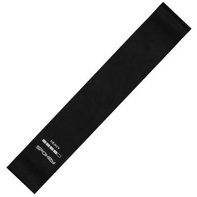Spokey ARTIO II fitness rubber Black, heavy, Spokey