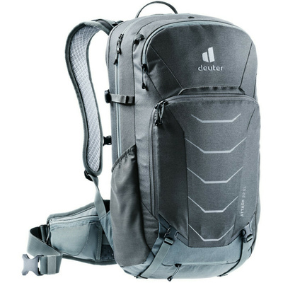 Cycling backpack Deuter Attack 22 EL graphite / shale, Deuter