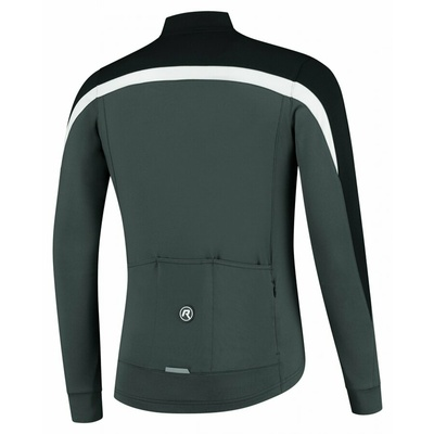 Men winter jacket Rogelli Freeze black-gray-reflective yellow ROG351020, Rogelli