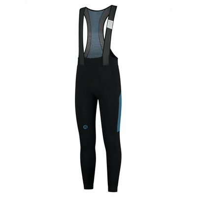 Men's warm cycling pants Rogelli Tyro black and blue ROG351018, Rogelli