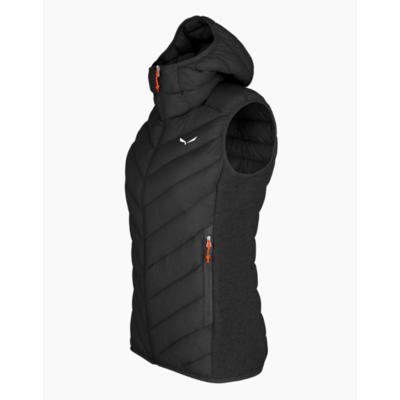 Women's vest Salewa Sarner / RDS Down W Hybrid Vest black out 28026-0910, Salewa