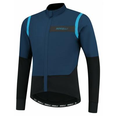Men ultralight cycling jacket Rogelli Infinite without insulation blue-black ROG351049, Rogelli