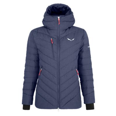 Women's winter jacket Salewa Raiser Medium Down navy blazer 28048-3960, Salewa