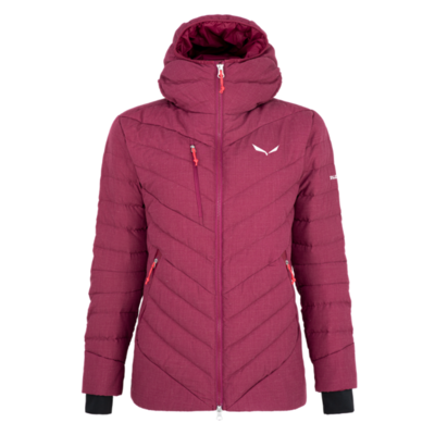 Women's winter jacket Salewa Raiser Medium Down rhodo red 28048-6360, Salewa