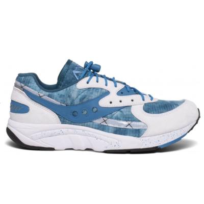 Men's shoes Saucony Aya white / blue, Saucony
