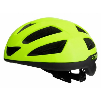 Helmet Rogelli PUNCTA, black-reflective yellow ROG351056, Rogelli