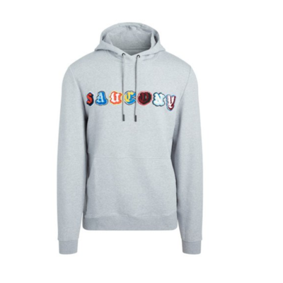 Men's sweatshirt Saucony Hoody Light Grey, Saucony