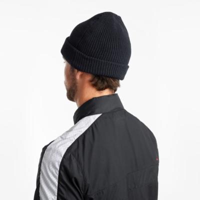 Men's winter cap Saucony Black, Saucony