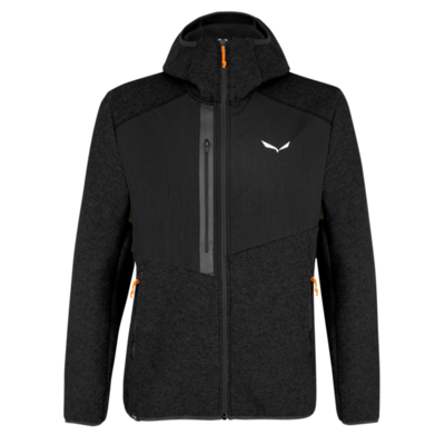 Men's winter jacket Salewa Fedaia AlpineWool blackout 28049-0910, Salewa