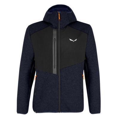Men's winter jacket Salewa Fedaia AlpineWool navy blazer 28049-0910, Salewa