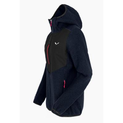 Women's winter jacket Salewa Fedaia Alpinewool navy blazer 28050-3961, Salewa