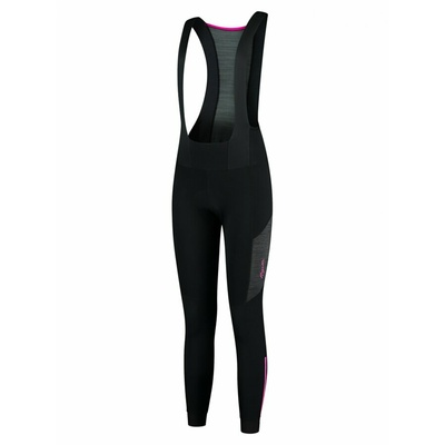 Women's cycling pants Rogelli Glory with braces gel Black ROG351076, Rogelli