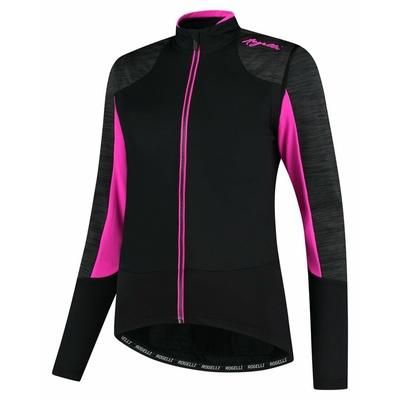 Women's winter jacket Rogelli Glory black-gray-pink ROG351078, Rogelli