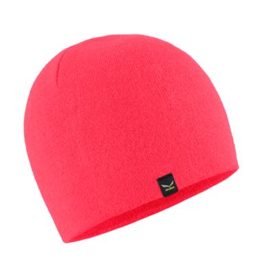 Winter hat Salewa Sella Ski Beanie coral fluo 28171-6080