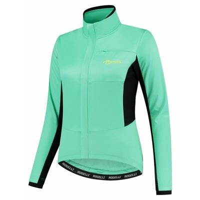 Women's winter jacket Rogelli Barrier turquoise ROG351090, Rogelli
