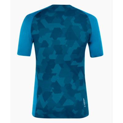 Men's thermo shirt Salewa Crystal warm merino responsive cloisonne blue 28205-8660, Salewa
