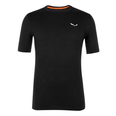 Men's thermo t-shirt Salewa Crystal warm merino responsive black out 28207-0910, Salewa