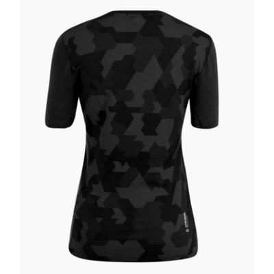 Women's thermo t-shirt Salewa Crystal warm merino responsive black out 28208-0910, Salewa