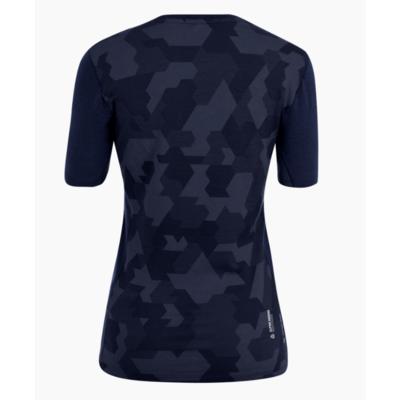 Women's thermo t-shirt Salewa Crystal warm merino responsive navy blazer 28208-3960, Salewa