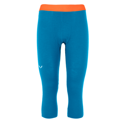 Pants Salewa Cristallo Warm Merino 3/4 cloisonne blue 28209-8660, Salewa