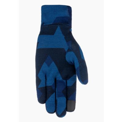 Gloves Salewa Crystal liner gloves navy camou 28214-3938, Salewa