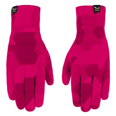 Gloves Salewa Crystal liner gloves rhodo camou 28214-6319