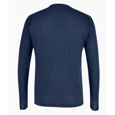 Men's thermo t-shirt Salewa Seceda Dry long sleeve tee navy blazer 28243-3960