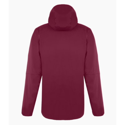 Women's winter jacket Salewa Ortles Tyrol Responsive stretch hooded rhodo red 28248-6360, Salewa
