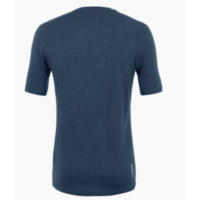 Men's T-Shirt Salewa Pure logo merino responsive navy blazer 28264-3960