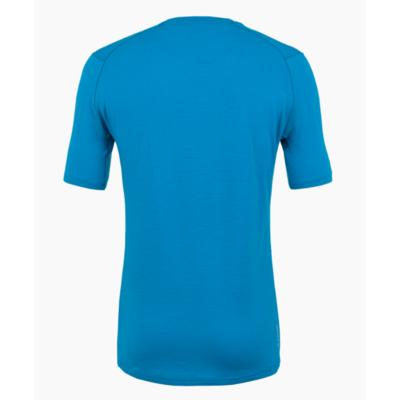 Men's T-Shirt Salewa Pure logo merino responsive cloisonne blue 28264-8660