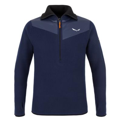 Men's sweatshirt Salewa Sella Merino navy blazer 28271-3960