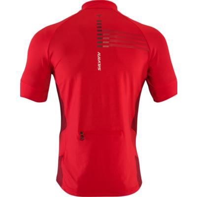Men's cycling jersey Silvini Cross MD1204 red, Silvini